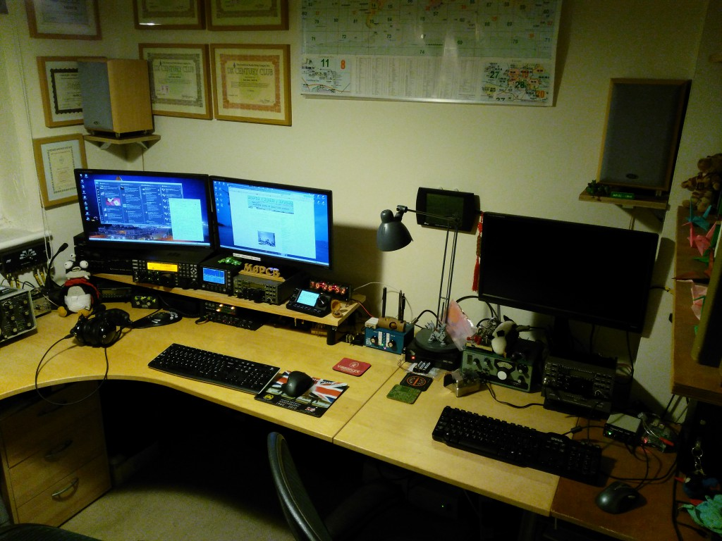 M0PCB/M0GEJ shack January 2016