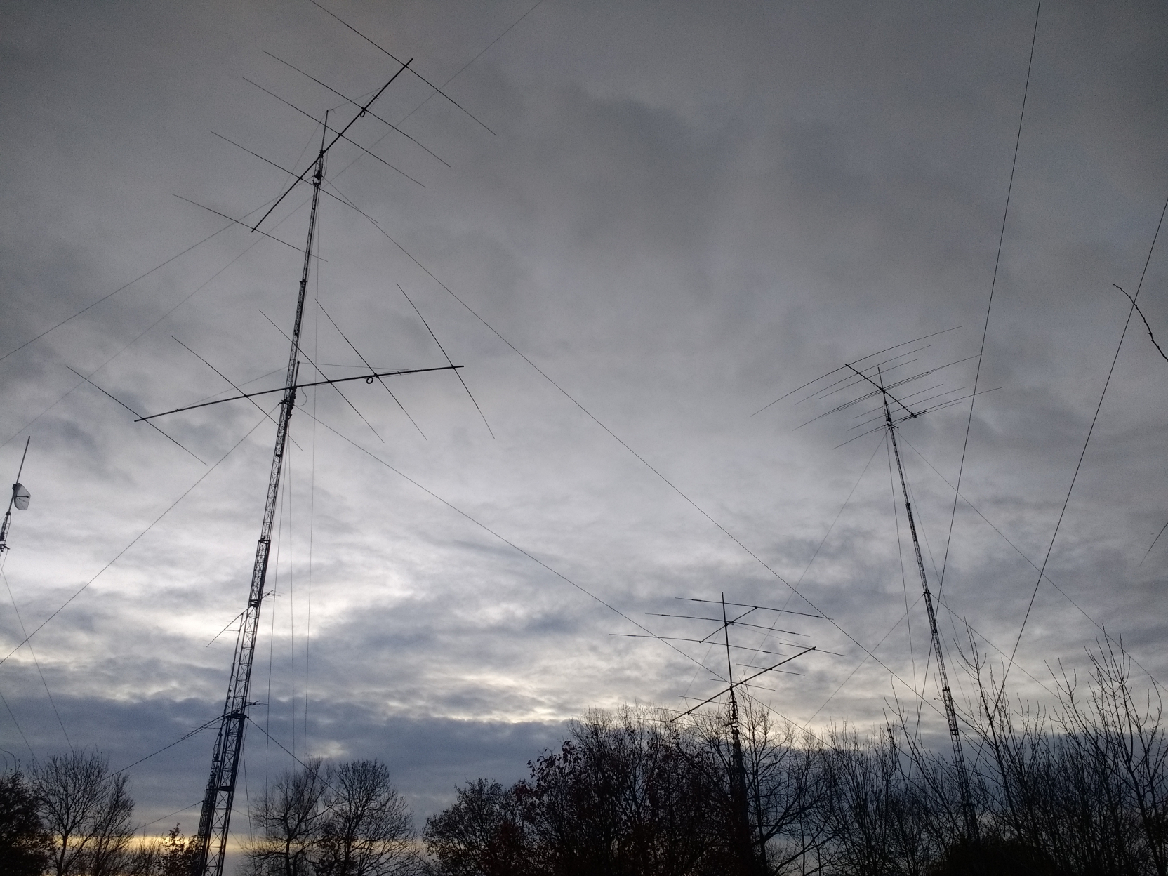 Some more M6T antennas, this time at dusk.