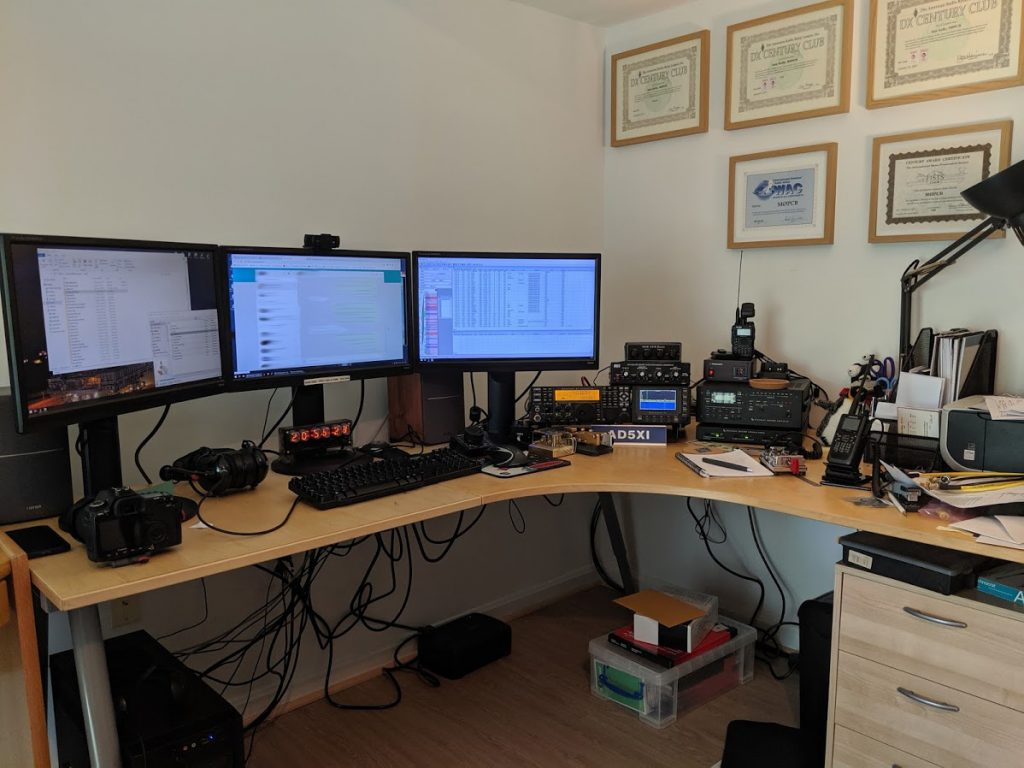 AD5XI Shack May 2019